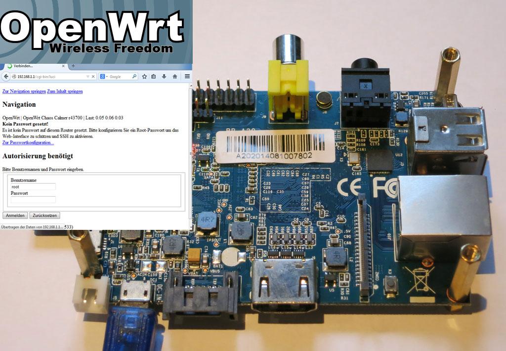 Banana Pi OpenWRT