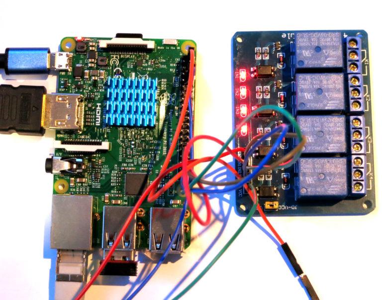 Raspberry Pi Relais schalten über GPIO