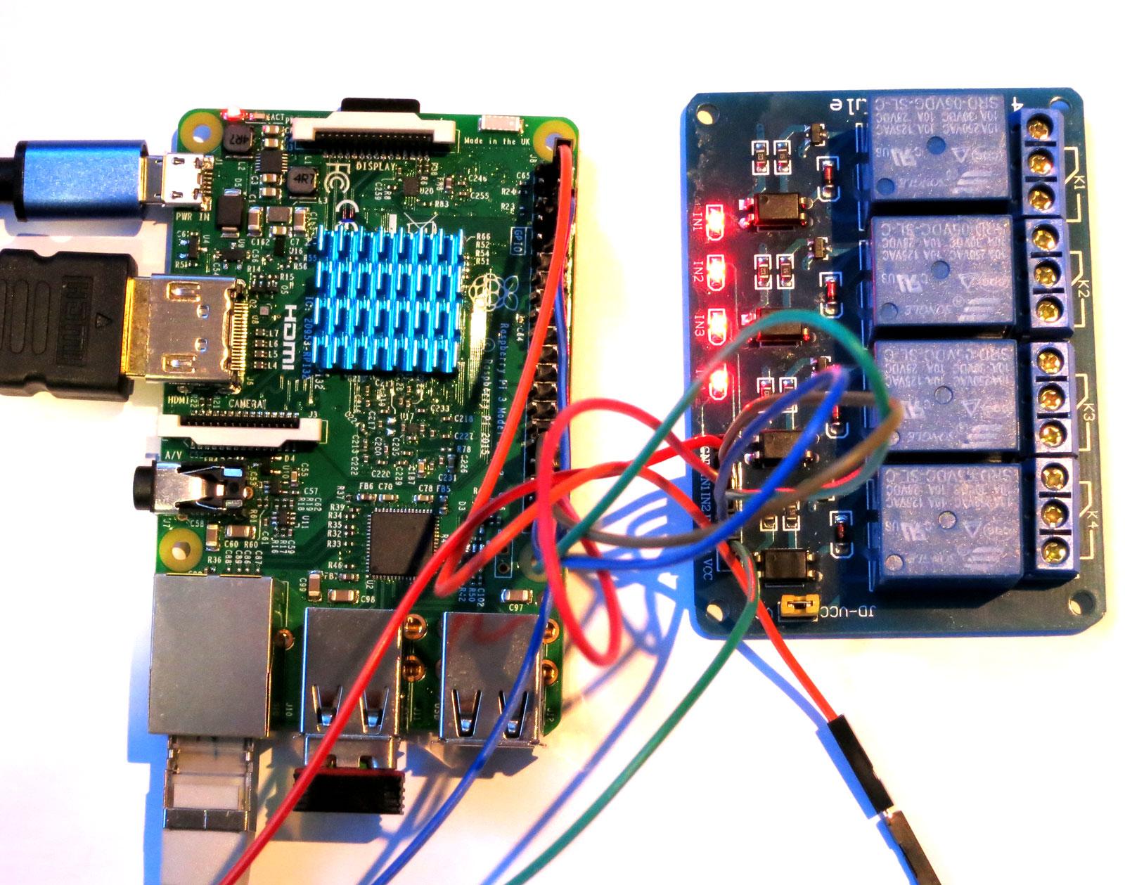 Relais Raspberry Pi