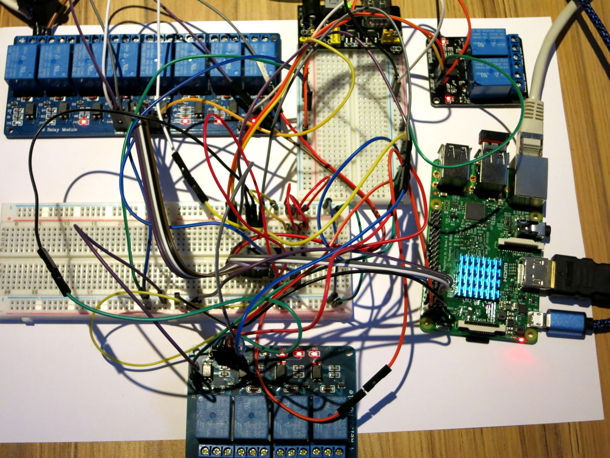 Raspberry Pi mit I2C