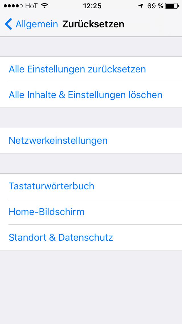 Lösung: iTunes konnte keine Verbindung herstellen
